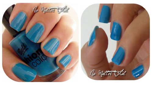 Bell fashion color bleu canard