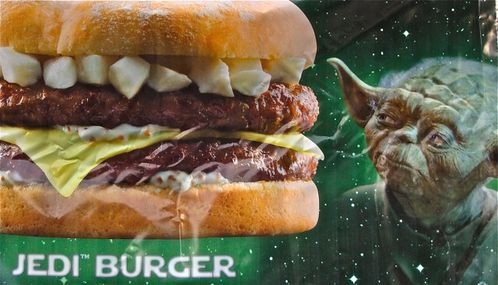 affiche Quick star wars Jedi burger