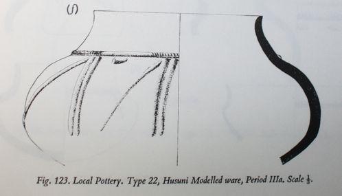 Chittick 1974 Kilwa, Husuni modelled ware