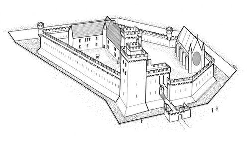 Du château féodal 1122 / à Henri II 1559