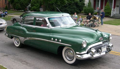 1951 Buick Eight Sedan