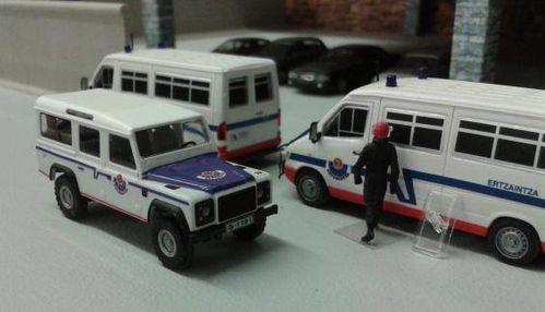 Land Rover Defender de la Ertzaintza
