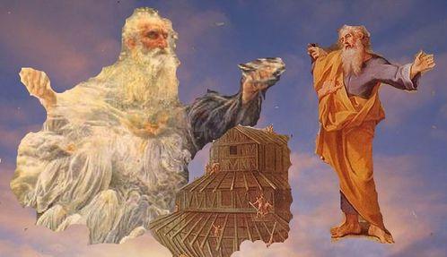 Dieu Noé arche