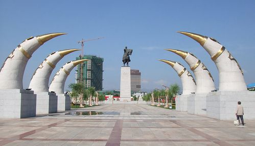 Monument blanc