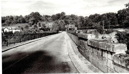 le pont de condat avant sa restauration