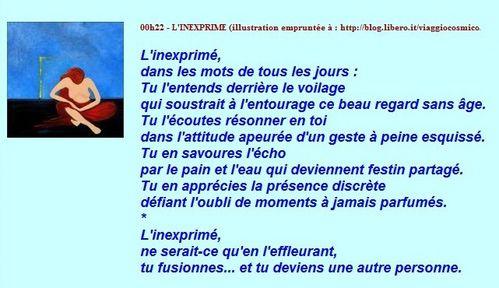 ECRITS D'AILLEURS - L'inexprimé