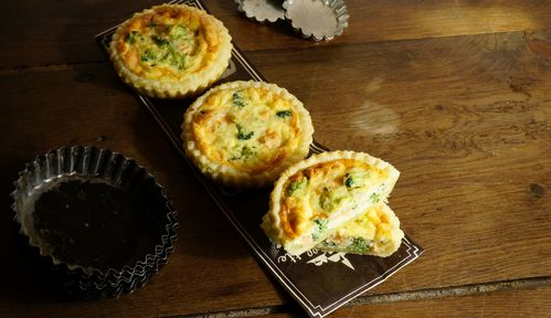 quiche saumon fumé brocolis 1