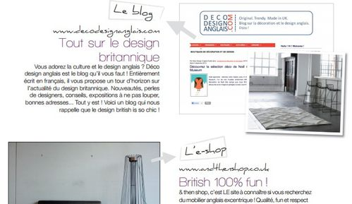 D co design anglais dans la presse so proud for Design anglais decoration