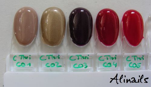 Catrice Thrilling me softy swatches