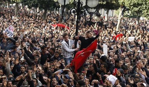 revolution tunis