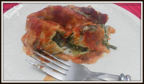 Cannelloni Epinard Ricotta 2