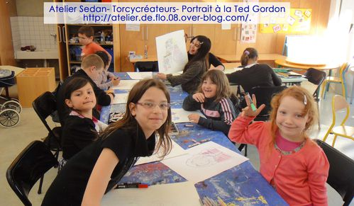 Peinture-Ted Gordon-Portrait-Atelier de Flo 08-Sedan-FloM 0