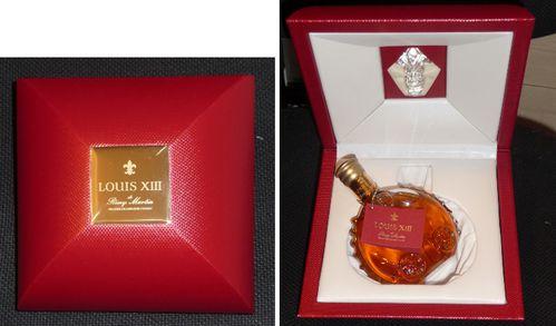 miniature collection cognac louis XIII cristal