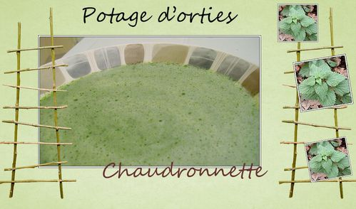 potage d'orties