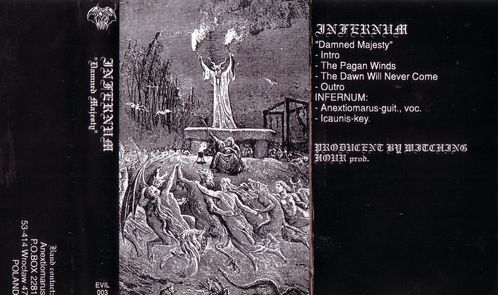 Infernum - Front cover