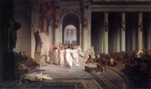 Gerome Death of Caesar