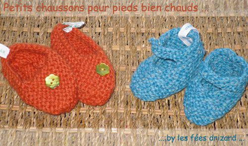 mosaique chaussons