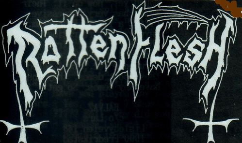 Rotting Flesh - Logo