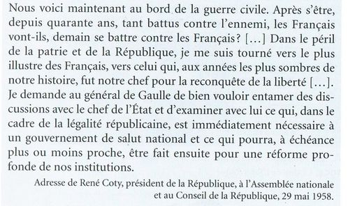 Discours Coty