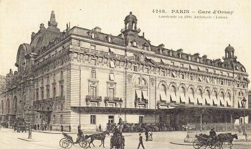 La gare d 39 orsay savannah 39 s spirit for Le garage paris austerlitz