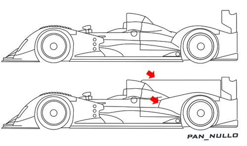 oreca 03 side low