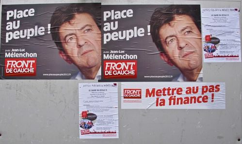 affiche election prsidentielle 2012 Mlanchon 0