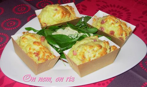 Mini-cakes express jambon-fromage1