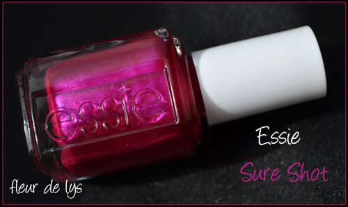 Essie sure shot flacon