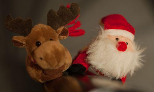 Père Noel et Renne