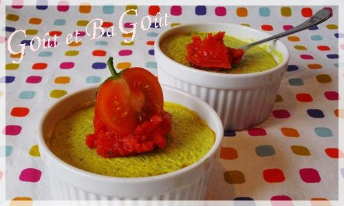 mousse de courgettes au boursin