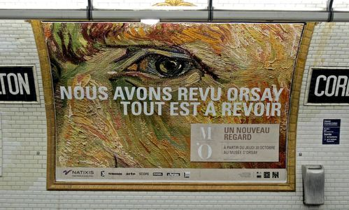 Orsay affiche oeil 9