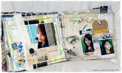 Carolice mini abum page 16 et 17