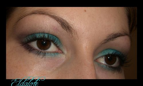 turquoise ouvert