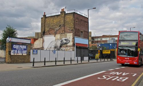 Londres street-art Hackney Roa rat 5