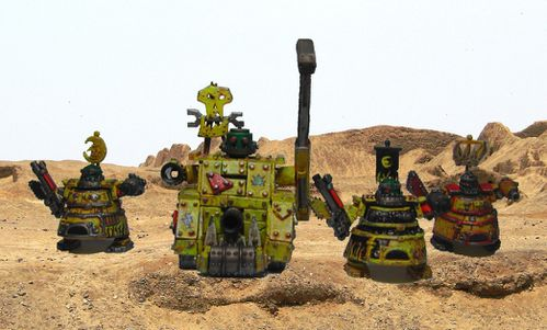 Bande de Supa krabouillator dans le desert