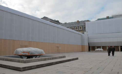 Palais Royal Bury Sphérades travaux 9