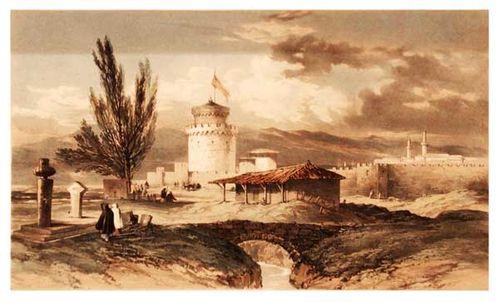830b1b Thessalonique au milieu du 19e siècle