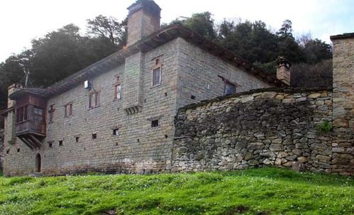 897e1 Metsovo, le monastère Agios Nikolaos