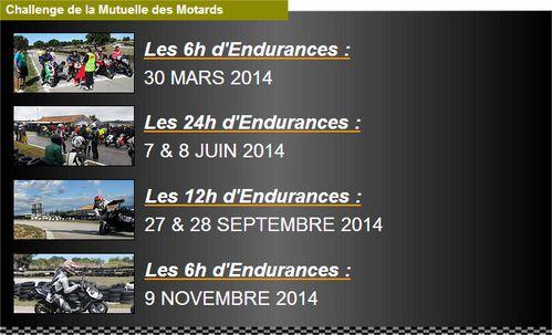 Challenge endurance 2014