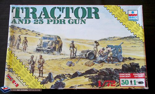 esci 8614 - Tractor and 25 Pdr Gun