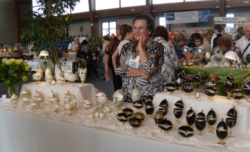 2011 Pays-bas Oeufs noirs-blancs stand