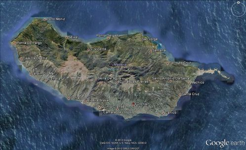 MADERE GOOGLE EARTH