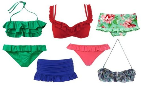 maillot froufrou