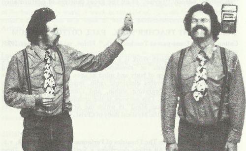 White John Tape Recording 1975