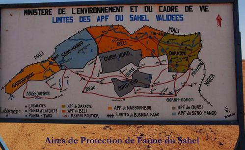 Aires de Protection de Faune du Sahel copie
