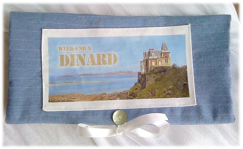 Pochette Week-end à Dinard