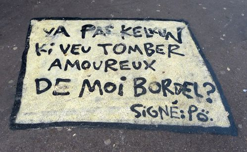 tomber amoureux message street-art 0