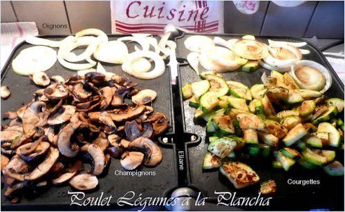 poulet légumes plancha 2