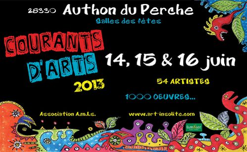 Courants d'arts2013