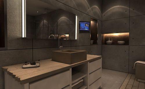 Vasque beton bunker balian beton atelier for Plan vasque bois salle de bain